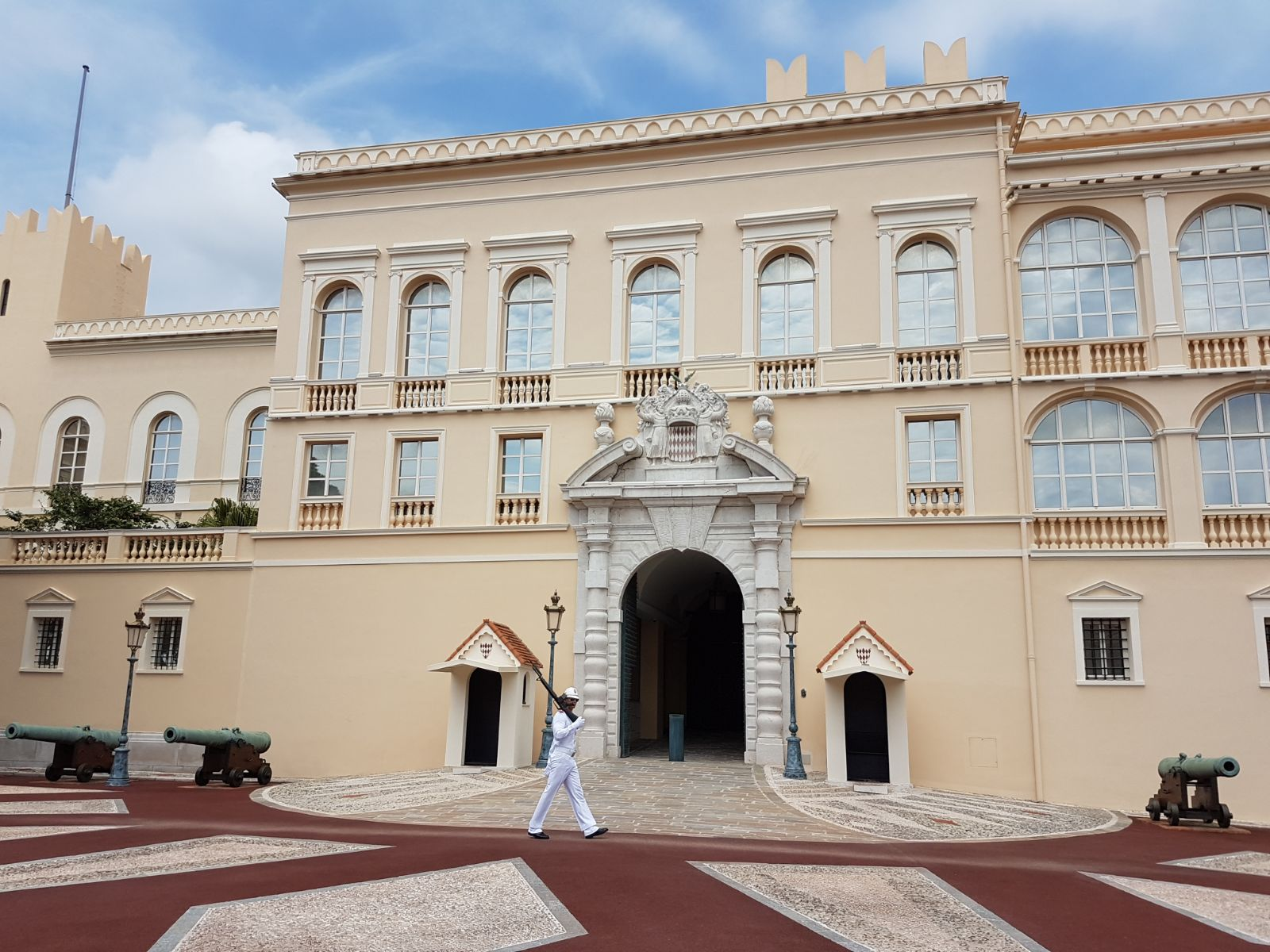 The palace in Monaco