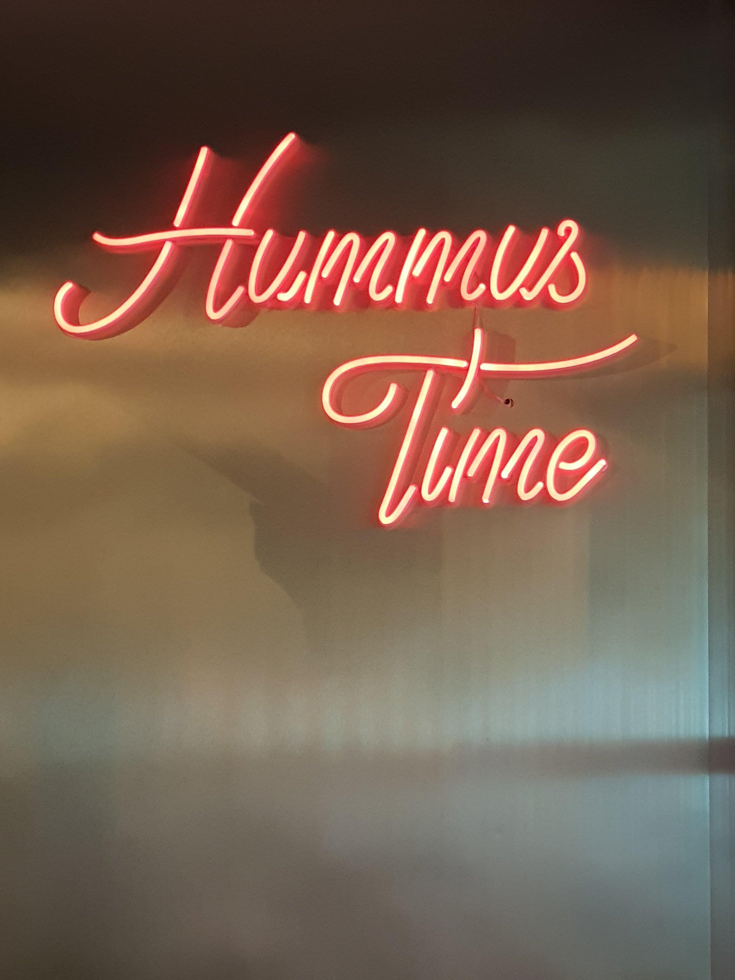 It's always Hummus time :-)
