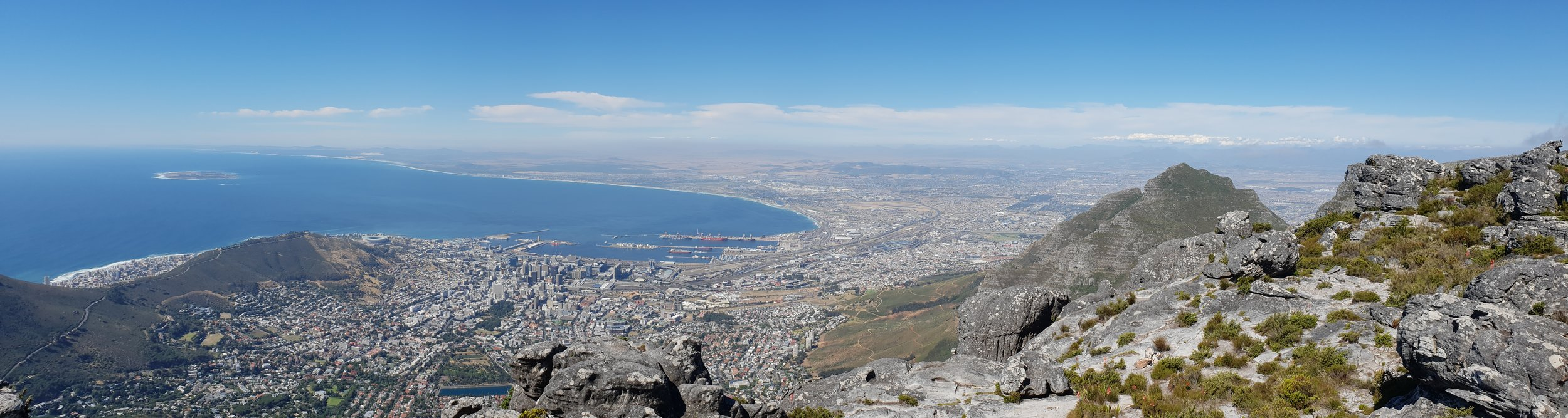 Views from the Table Mountain