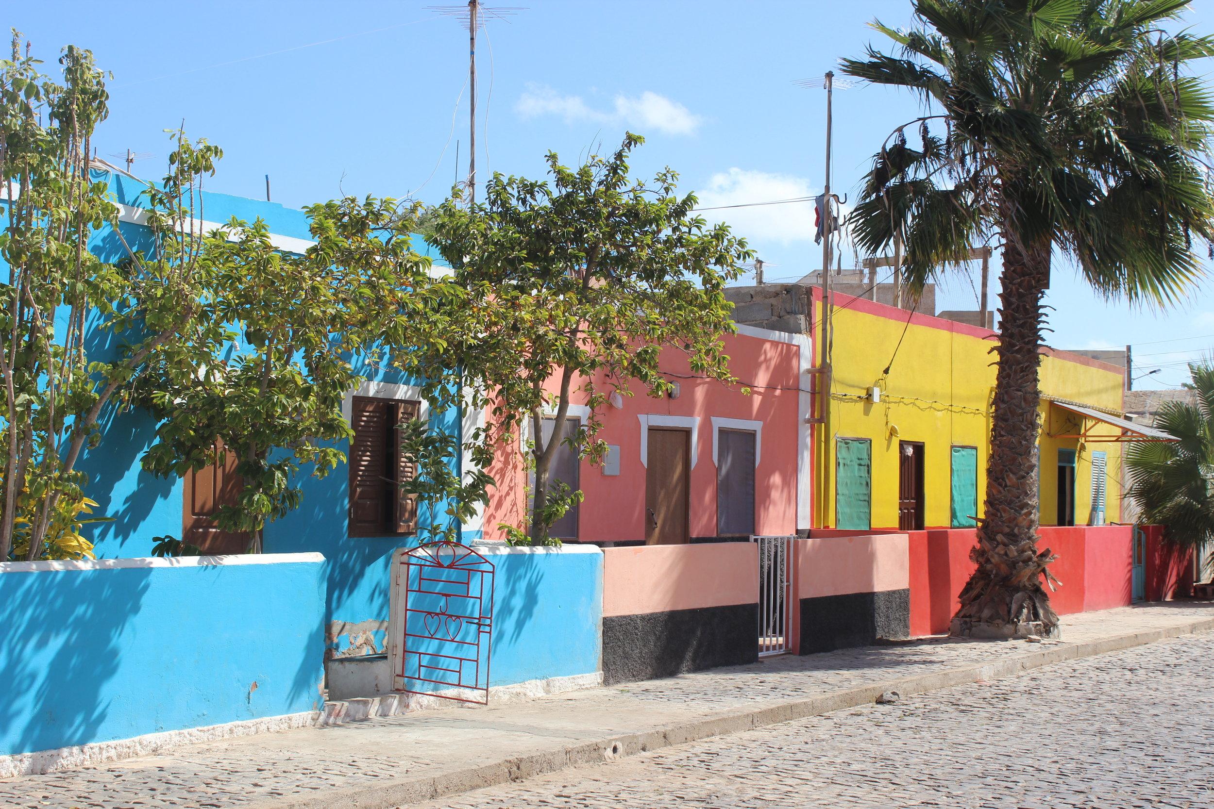 Palmeira, the capital of Sal