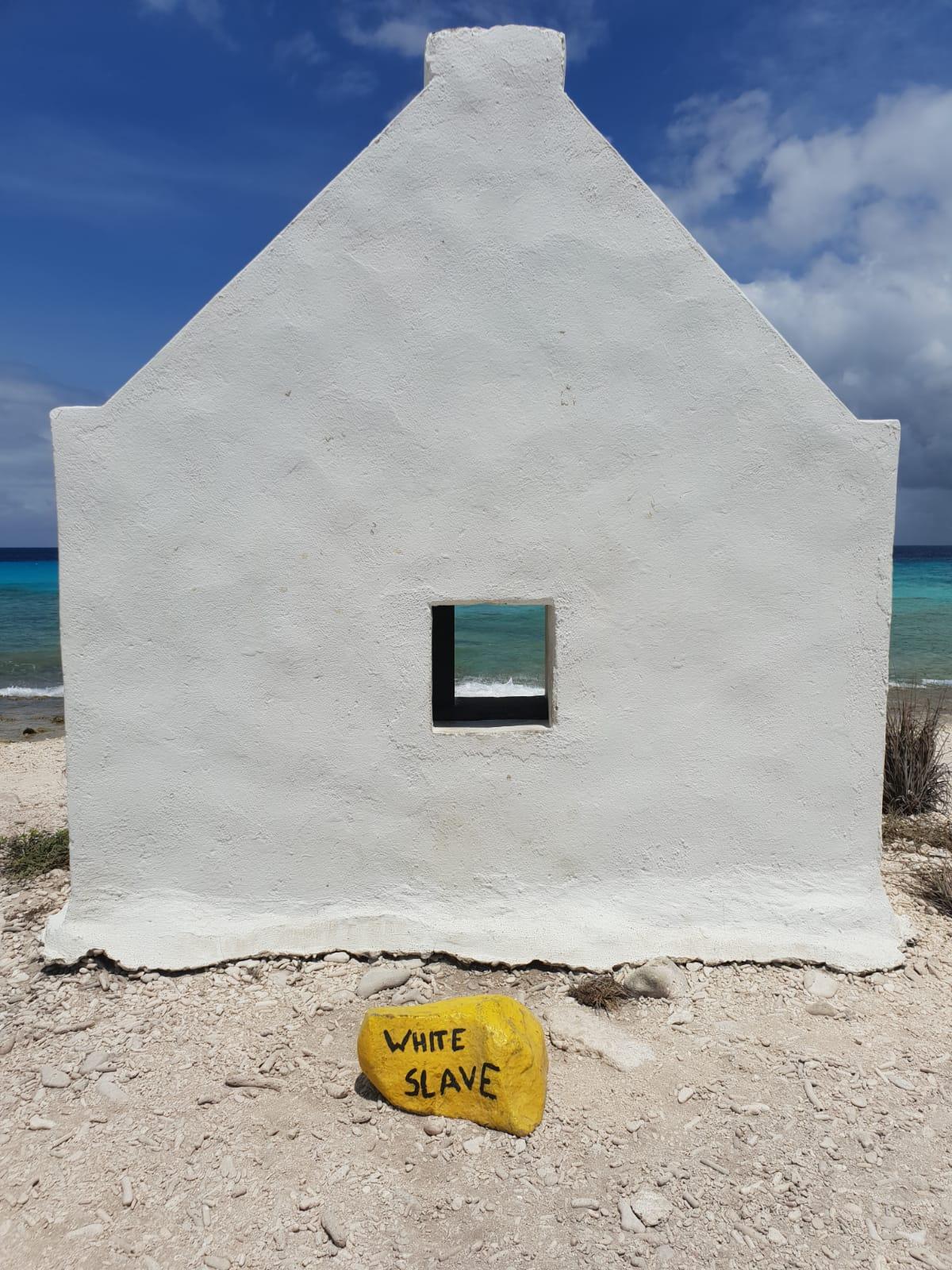 The slave huts