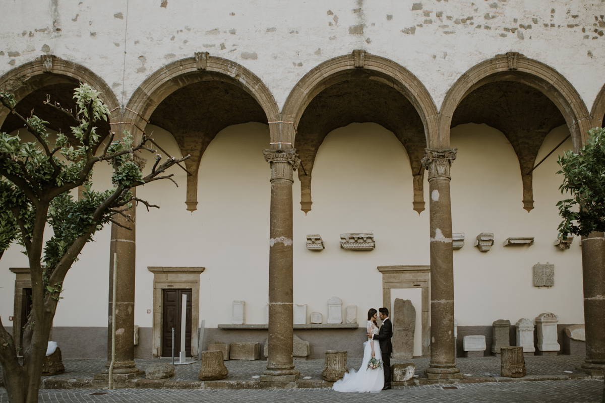 G & S - Wedding in Rome - Villa di Fiorano