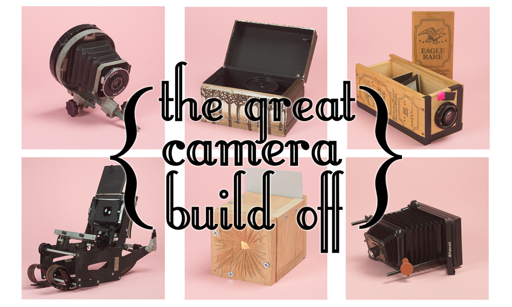Great Camera Build-Off - EASE curated by Agnes Ray, Columbus, OhioJanuary 9 – February 7Join us on January 9th at 7:00 PM for the opening reception for the Great Camera Build-Off!OSU photography students prove that digital sensors and expensive lenses aren't necessary to produce high quality, thought provoking photographs.The Great Camera Build Off features OSU student work created this fall during a course called 'Alternative Camera Systems,' taught by Department of Art Lecturer and STEAM Factory member Stephen Takacs.During this upper-level photography course, undergraduate and graduate students explored an a-typical amalgam of photographic systems, including pinhole cameras, plastic lens cameras, and peel apart film.Every artist participating in The Great Camera Build Off was tasked with creating a new camera using a piece of obsolete equipment distributed by Takacs, in part or in whole. The resulting exhibition features both the handmade cameras (many of which are quite sculptural) and the images produced by each.Although all of the cameras and images were created using analog (ie. film-based) materials, the output varies and includes digital inkjet prints, as well as those made in the darkroom.Takacs, whose room-sized camera obscura project Brownie In Motion recently toured the country, hopes that the students in his course leave empowered by the DIY mentality, and armed with the knowledge that it's the artist who makes an image, not the device.