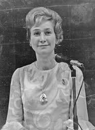 Winnie Ewing, in 1967 (Photo Credit:  The Blantyre Project )