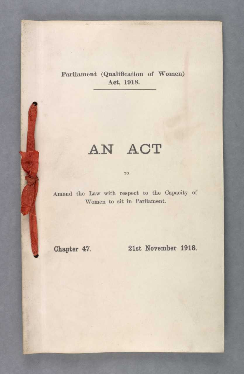 Last year, the UK celebrated 100 years since the first rights of women to stand for political office were passed into law. 100 years later women are still outnumbered by men in political office. -