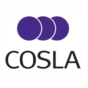 "COSLA logo - three overlapping purple circles are above ""COSLA"" in black text"