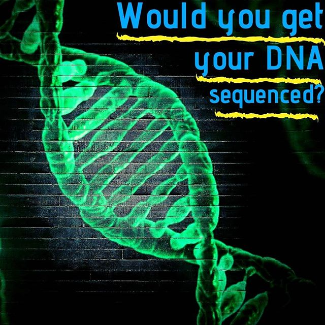 Would you get your DNA sequenced? I did, and I learned a lot. ⠀ -⠀ There are fears that if you get your genome sequenced, the data could possibly be used against you in the future. An example may be if you had a variant for heart disease, insurance companies could discriminate against you and make your rates higher. ⠀ -⠀ After all, we are putting the entire chemical blueprint that makes us who we are in the hands of a private company. They have our DNA, and despite privacy agreements the thought of it being used against us is sort of scary. ⠀ -⠀ There is also the possibility that you learn something that you may not want to know. Maybe it turns out that you DO have a gene variant that makes you much more likely to develop a serious condition. ⠀ -⠀ You may possibly spend much of your thinking time paranoid and afraid, waiting for the first signs of the condition. ⠀ -⠀ However, I think that knowing your genetic information is empowering, rather than crippling. If you do have a variant that makes you more likely to have a certain condition, it could be an inspiration to live healthier to decrease your risk. ⠀ -⠀ Along with this, you can also learn other helpful bits of knowledge like what foods you should eat and what types of exercise you should do among many others to live the healthiest life possible. ⠀ -⠀ Aside from the practical information, it's just super interesting to me. I love genetics and knowing the makeup of my own DNA has provided countless hours of learning and maybe even some entertainment. ⠀ -⠀ So, have you had your genome sequenced? Would you? Let's talk about it!⠀ -⠀ #science #asciencestory #sciencesignal #NASA #physics #biology #chemistry #medicine #genetics #surgery #medicalscience #astronomy #cosmos #freethinker #sciencepassion #einstein #DNA #humangenomeproject #sequencing