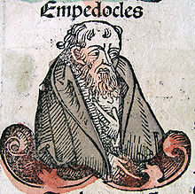 Empedocles wasn't very good looking! From wikipedia.com