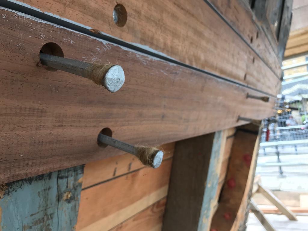 rose head boat nails