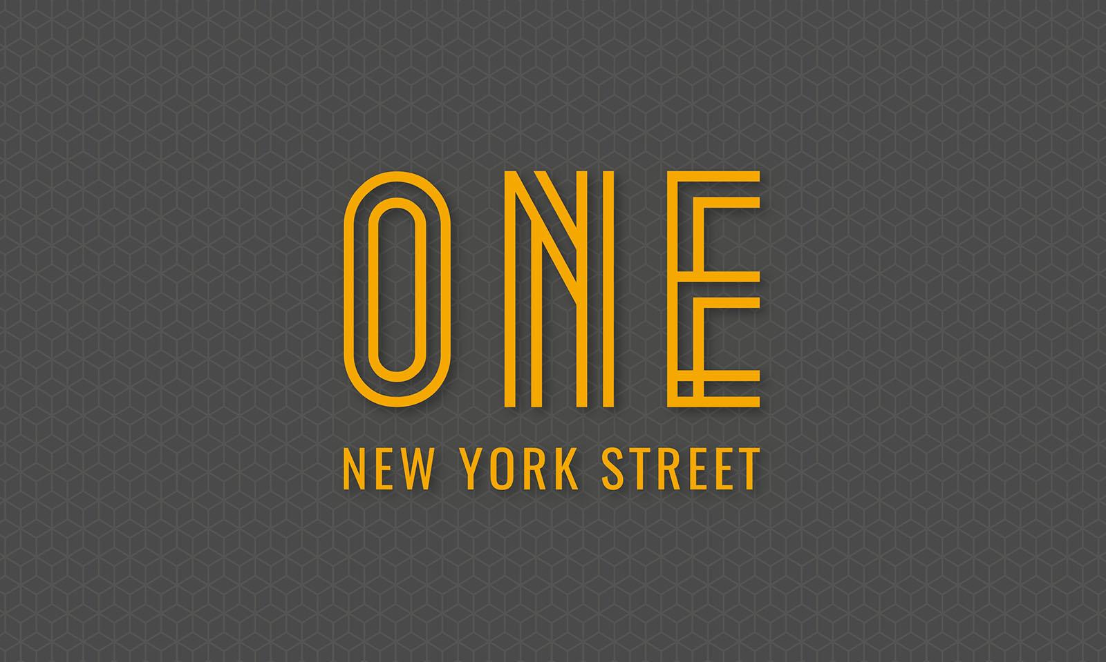 One New York Street Brand Identity