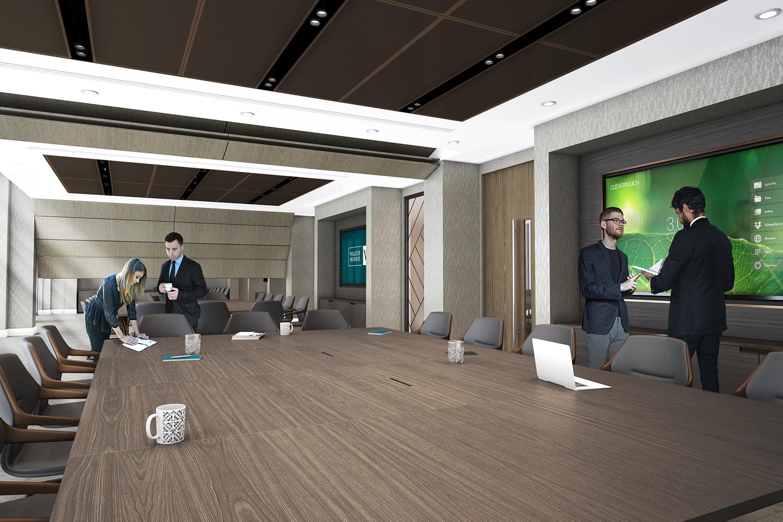 CGI visualisation Meeting room