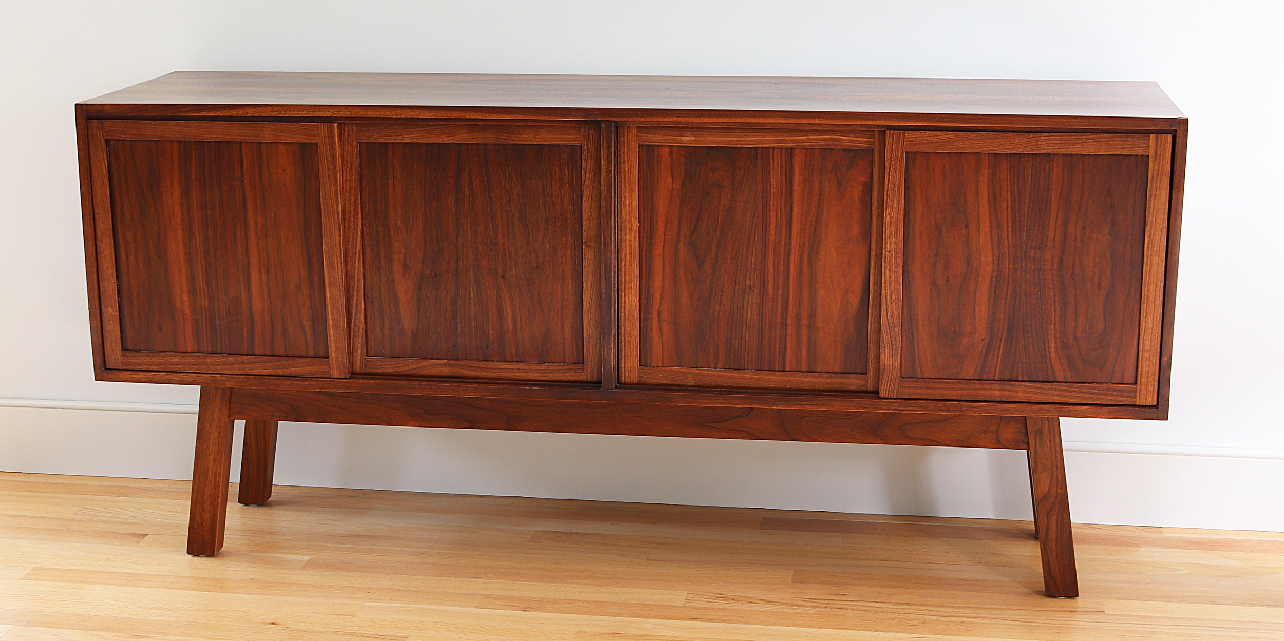 Walnut Credenza Side Board
