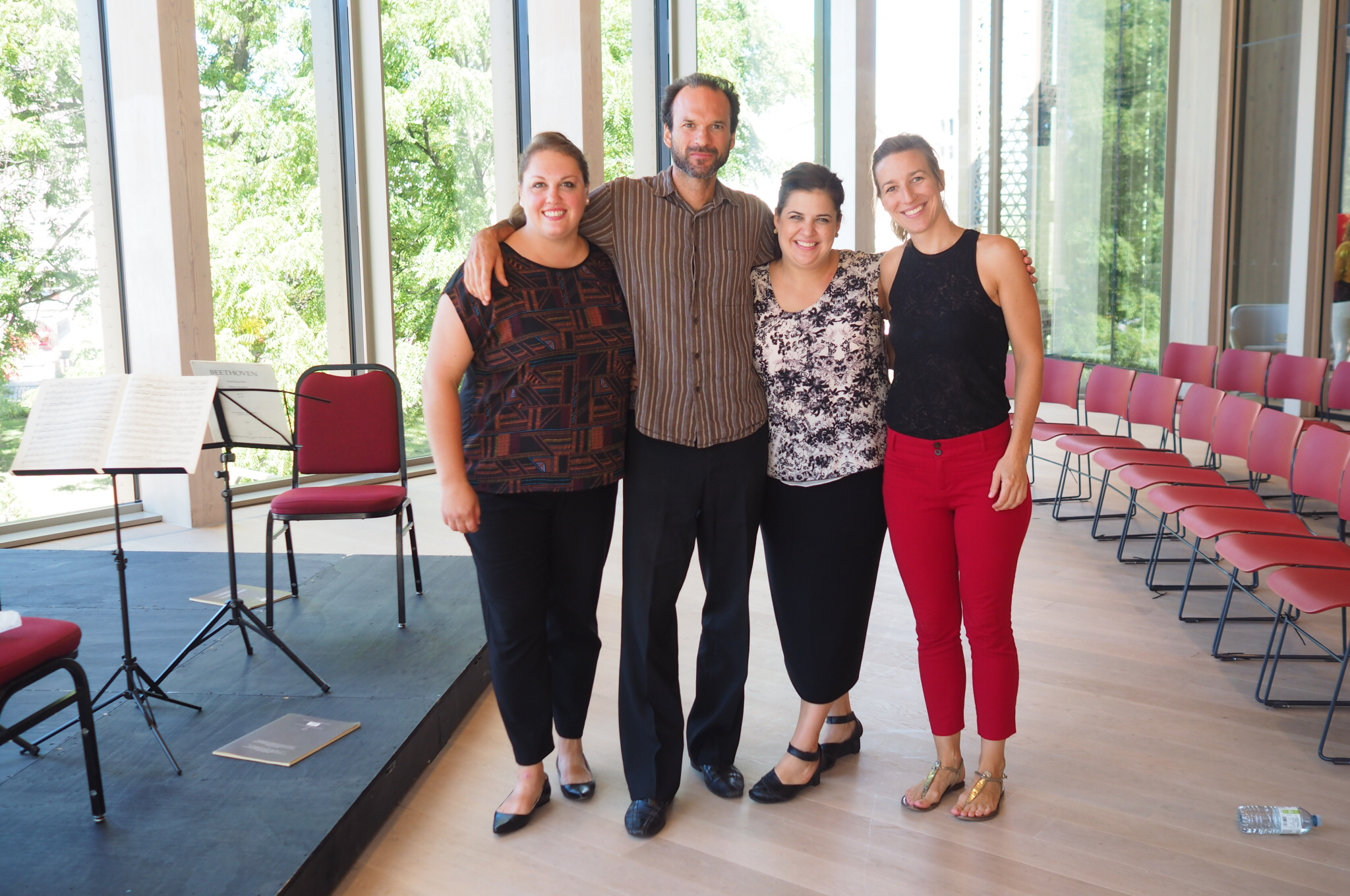 OUR VISION - Learn about the artistic directors, the Ironwood Quartet