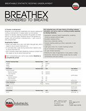 Breathex Specifications PDF