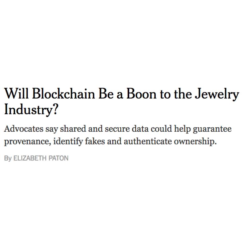 Blockchain x Jewelry