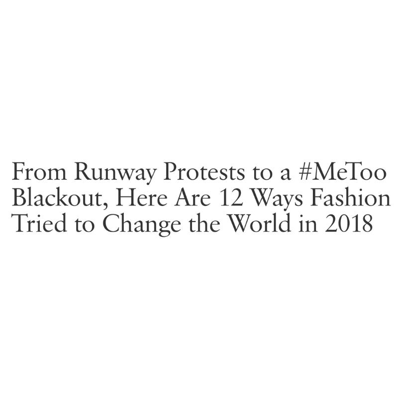 Fashion Changing the World