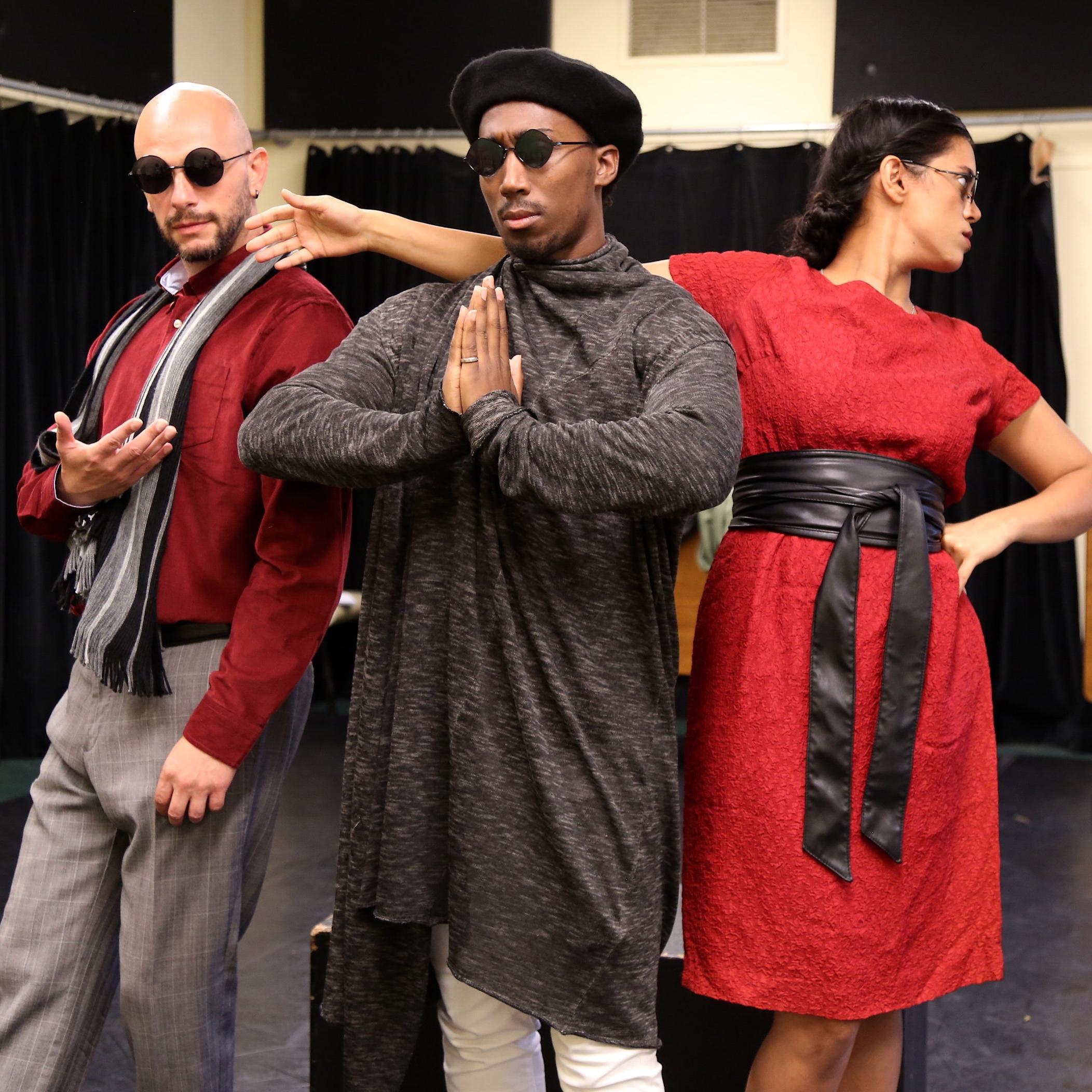 Hamlet 90 rehearsal