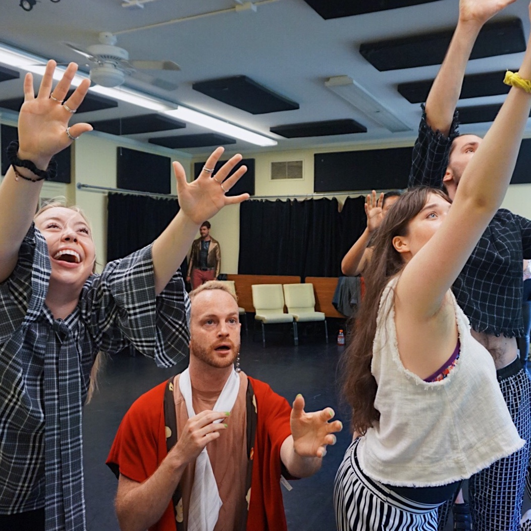 rise/fall rehearsal