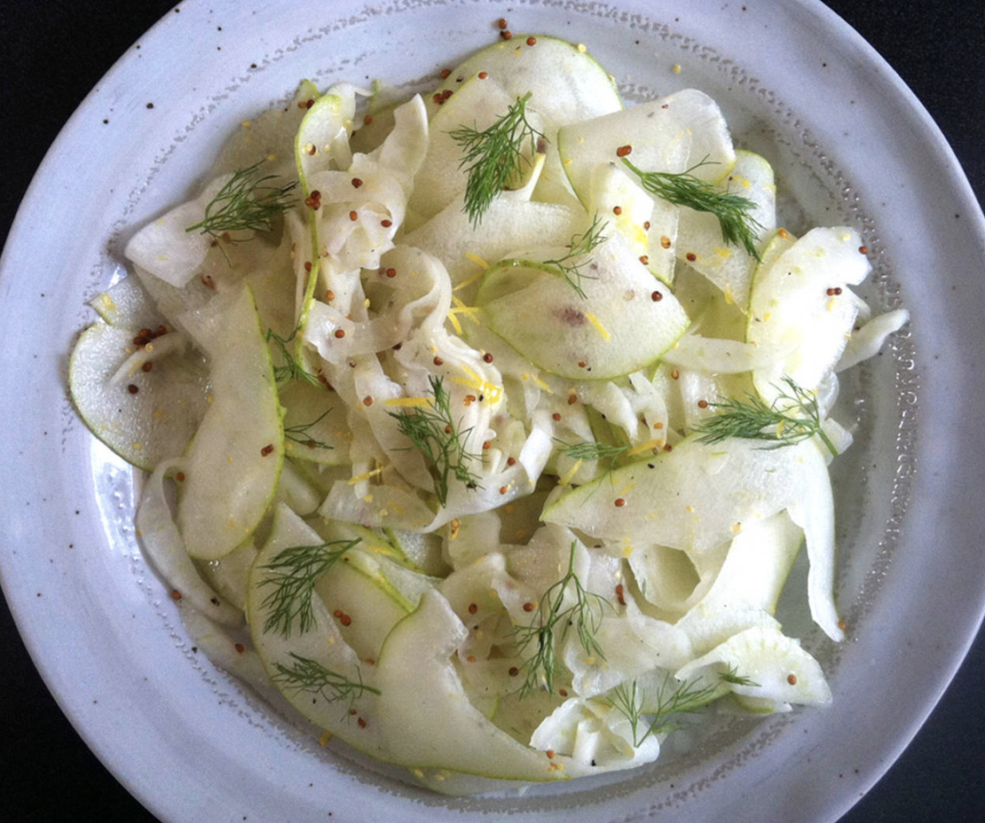 Fennel & Pear Salad