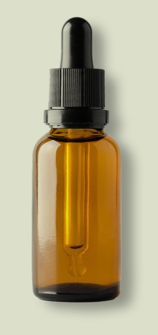 tinctures - Fast-acting formulations good for mixing with food or beverages.