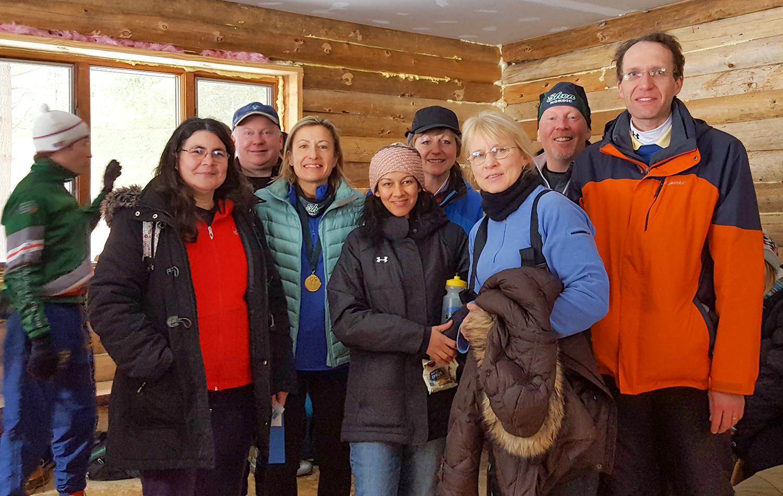 Nordic parents at 2017 Shen Classic race.