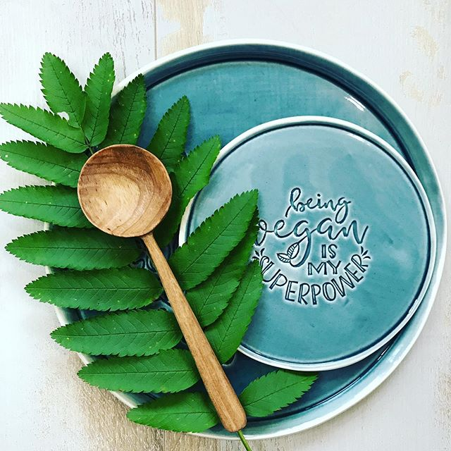What's yours? 😉👊🏻 #veganplate #plantbased #veganismysuperpower  #handmadeplate #foodprops  #vegan #veganismysuperpower #tabletop  #grateplates #epicplateup  #artofplating #thedailybite #onthetable #superpower #atthetable #tabletop #handmadeceramicplate #veganchef #ceramicplates #veganbreakfast #veganlove #veganfoodlovers #veganpower #petrolblue