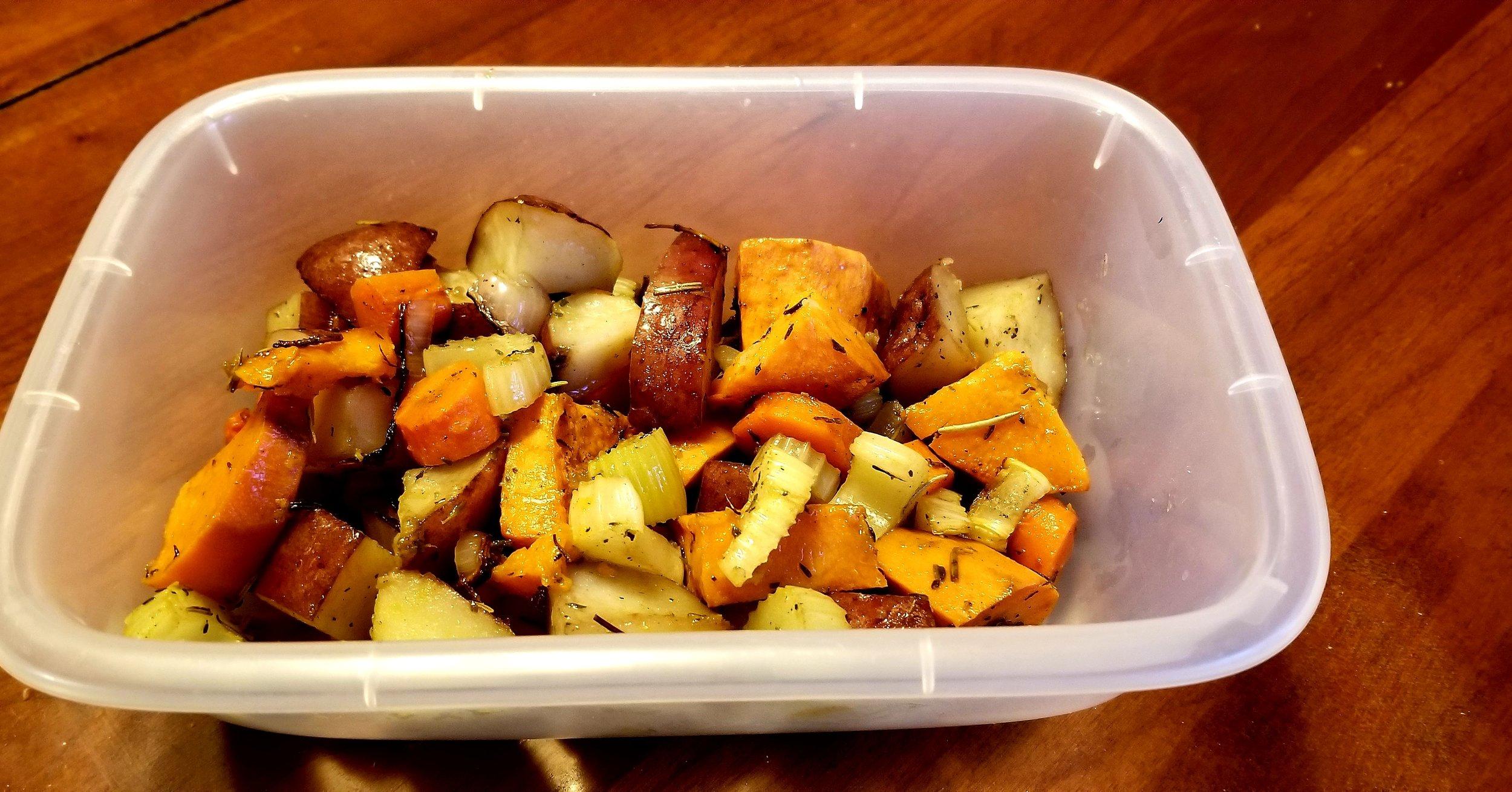 Roasted Harvest Veggies -