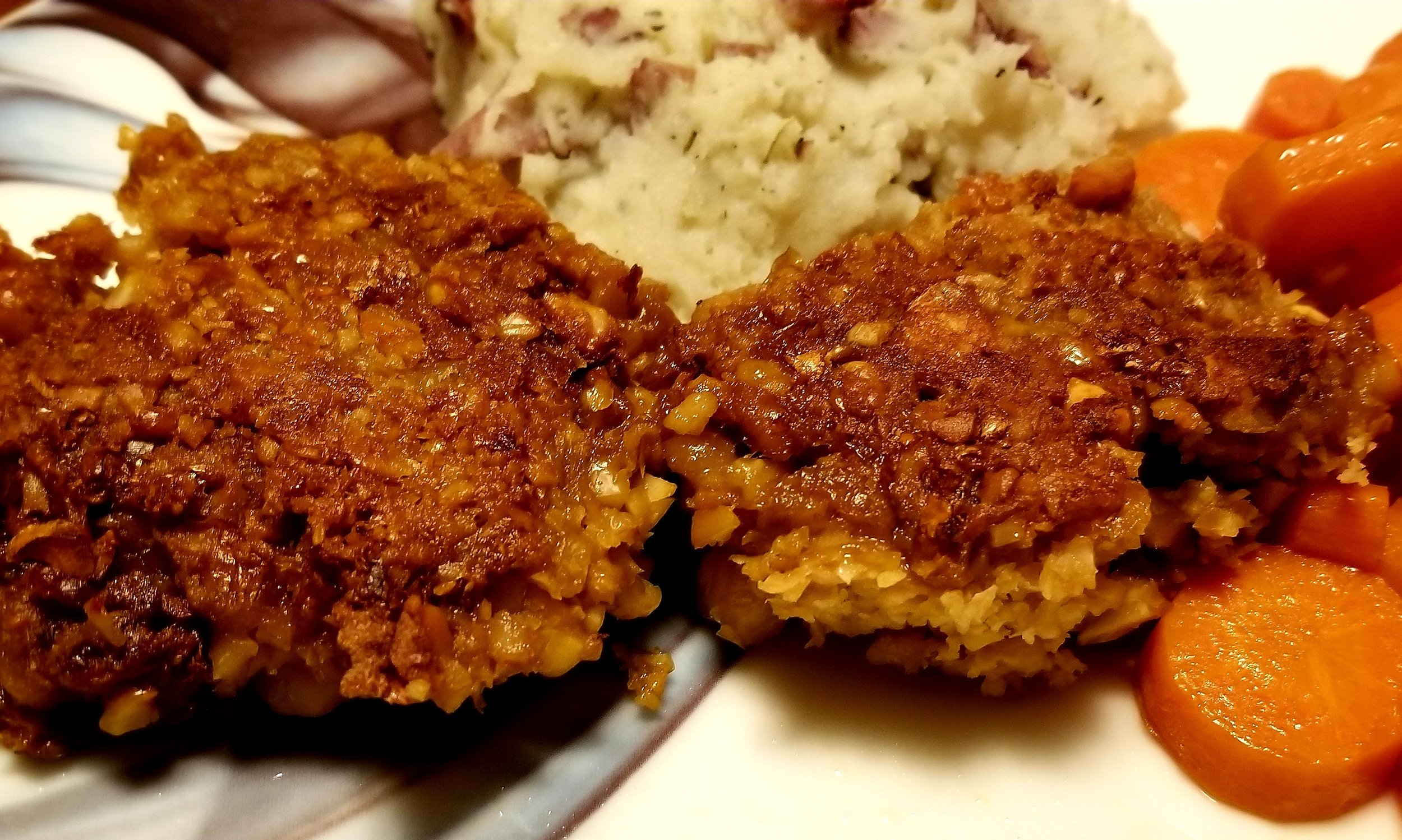 Chickpea Cutlets -
