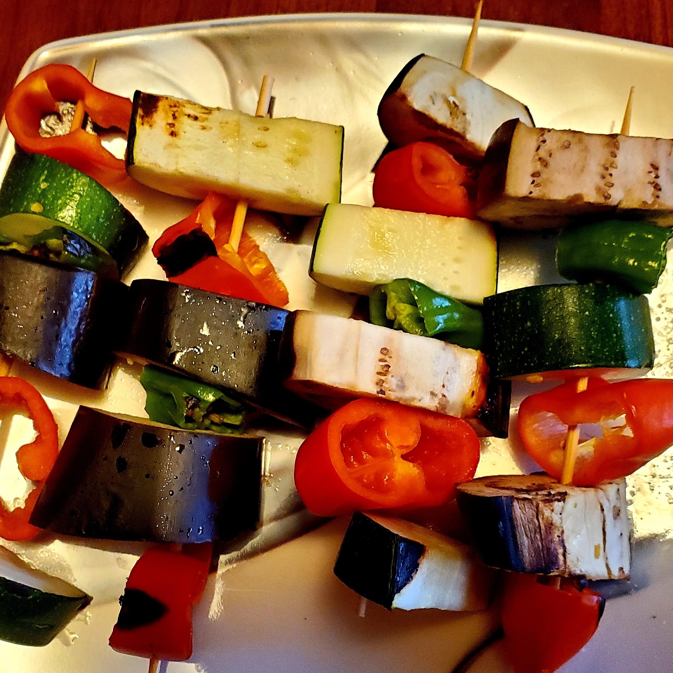 Grilled Vegan Kabobs -