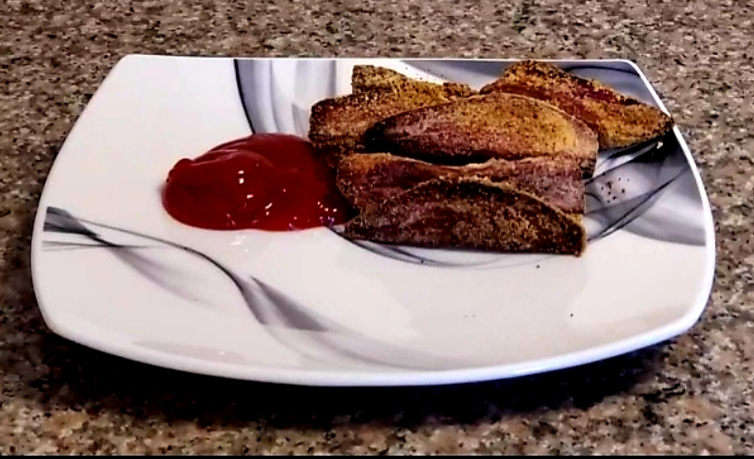 Chili Sweet Potato Fries -