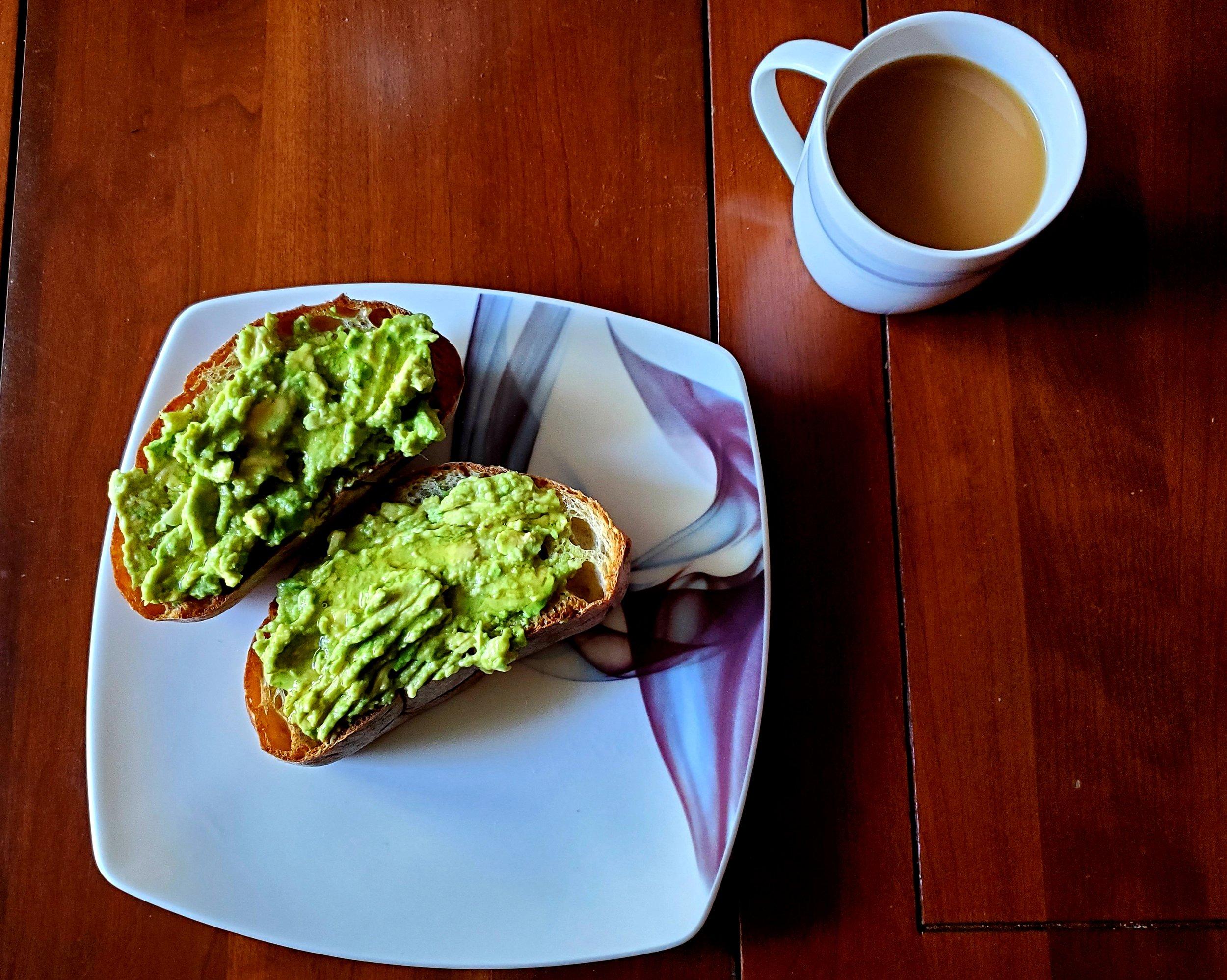 Avocado Agave Toast -