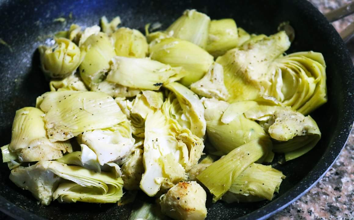 Lemon Pepper Artichokes -