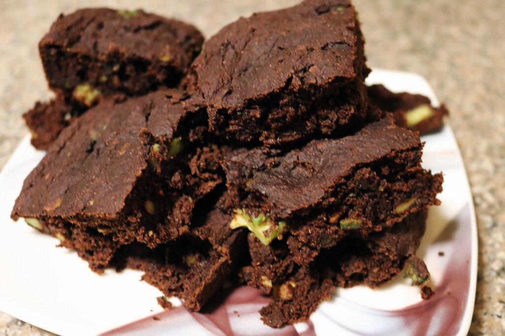 Vegan Chili Chocolate Brownies -