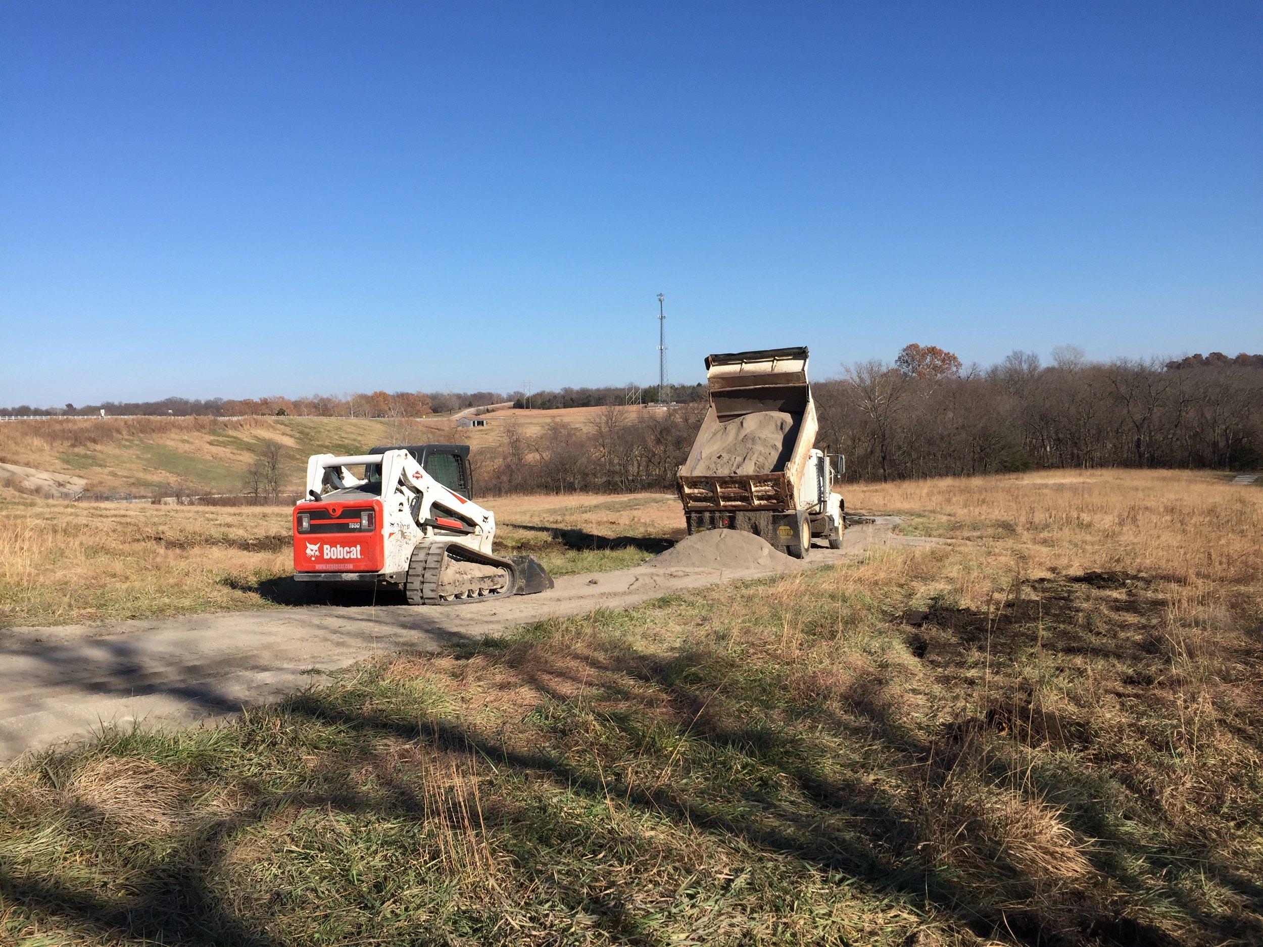November 2018 - trail repairs