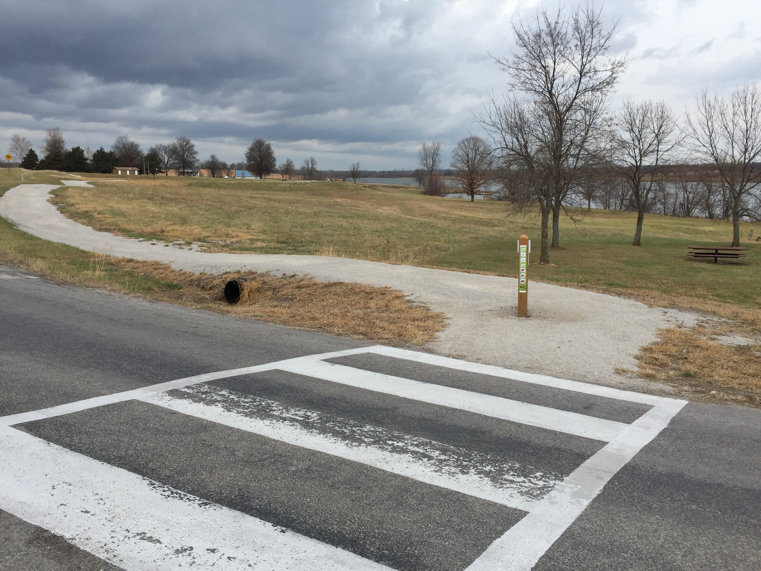 December 2017-trail safely crosses 299th near dam