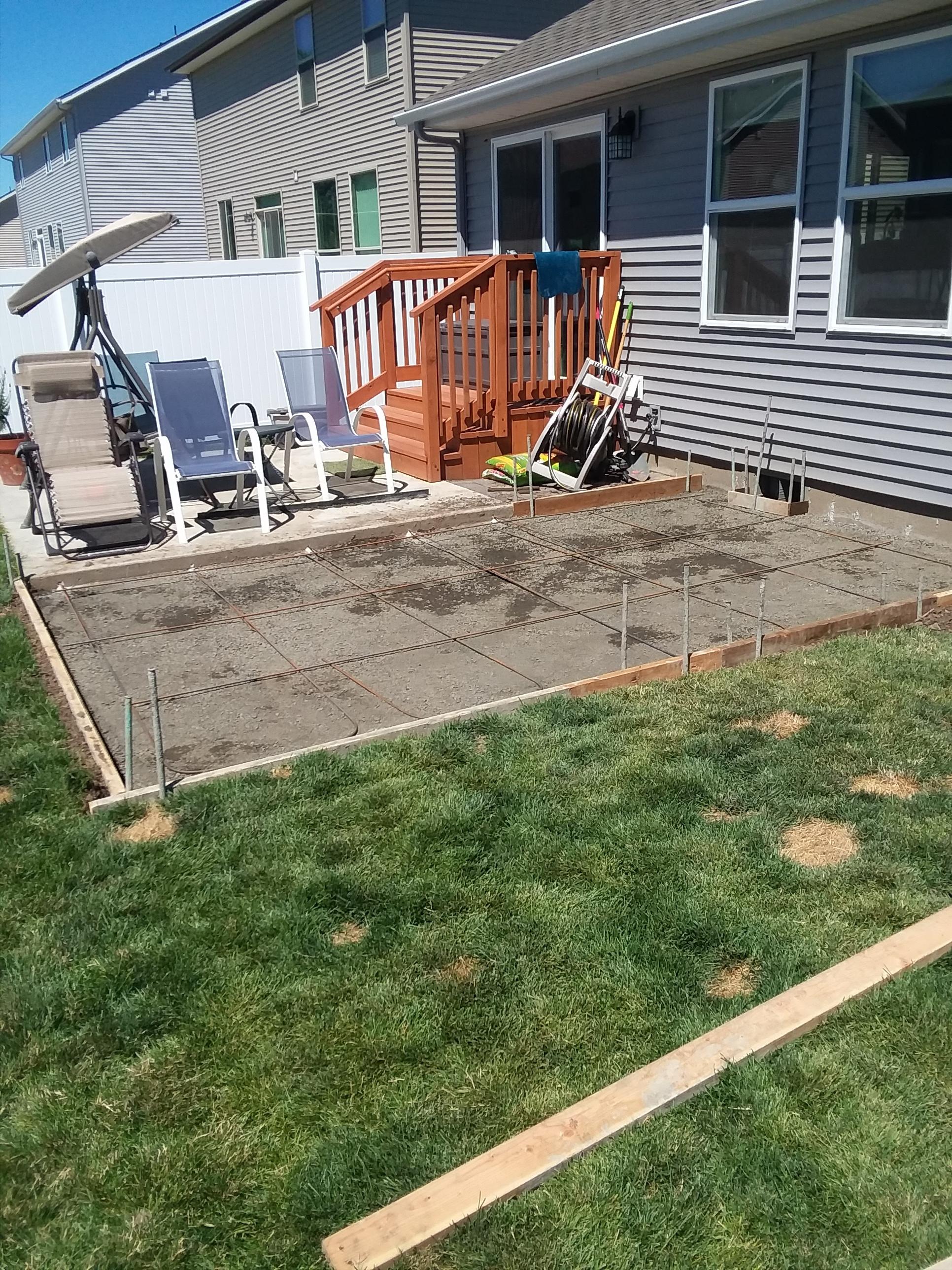 Concrete Patio Expansion