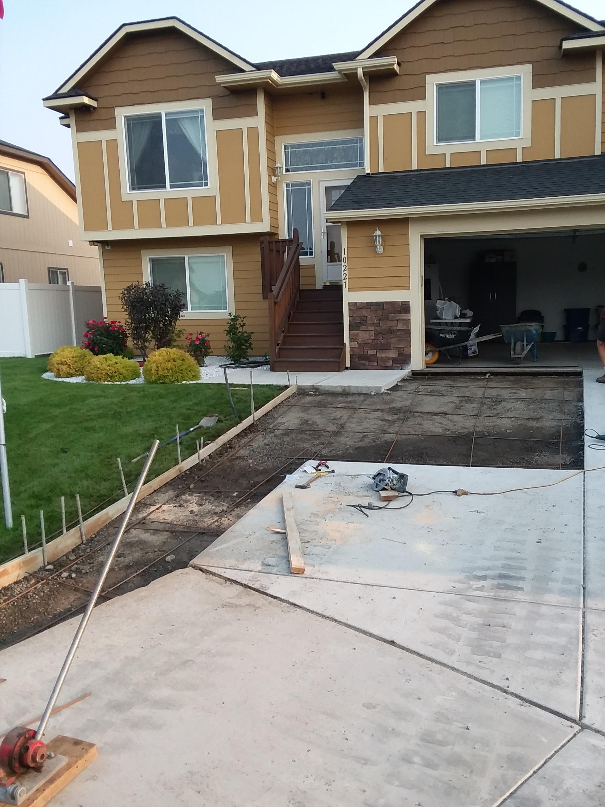 Concrete Driveway Repair