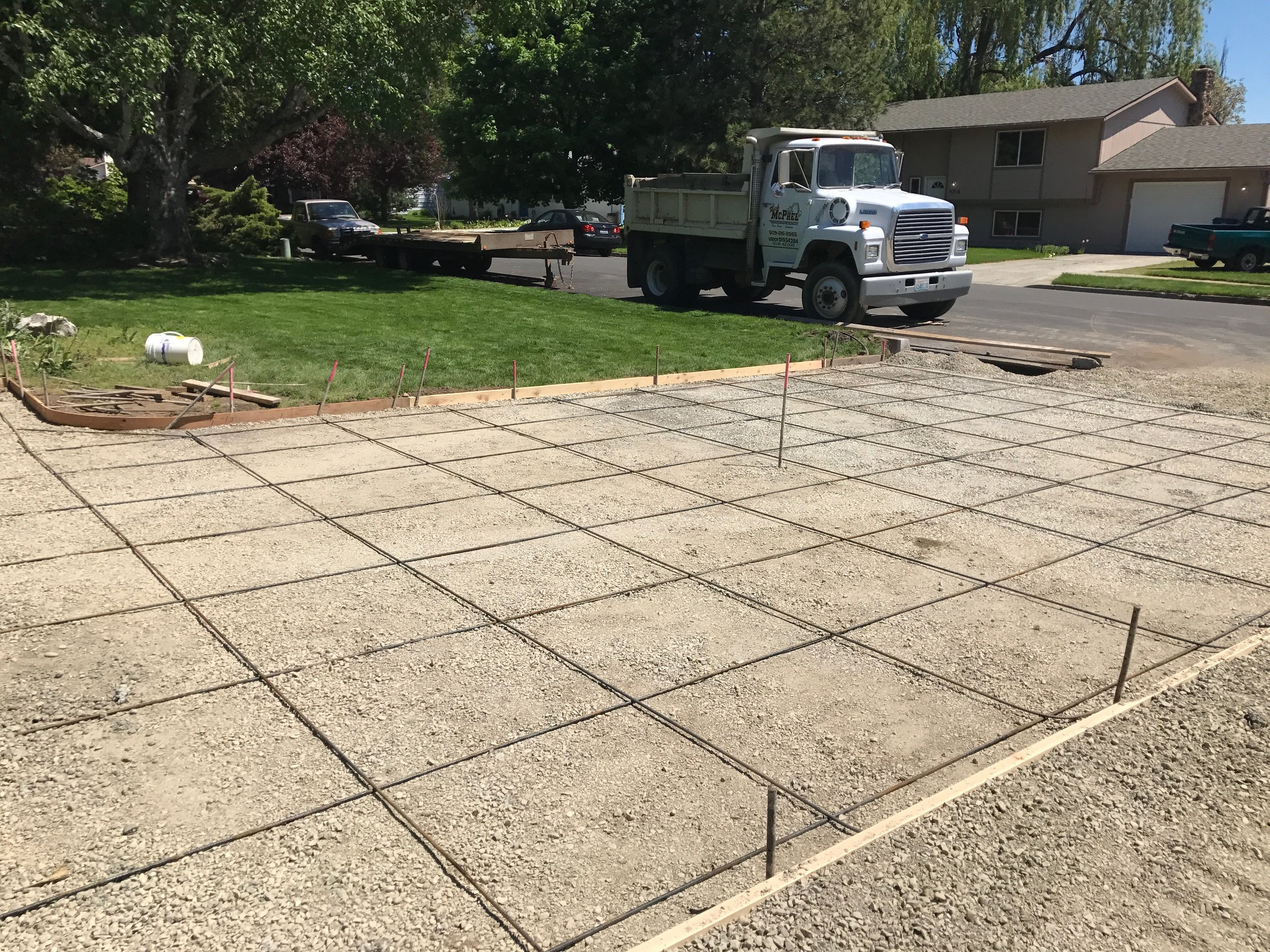 Replacement Driveway