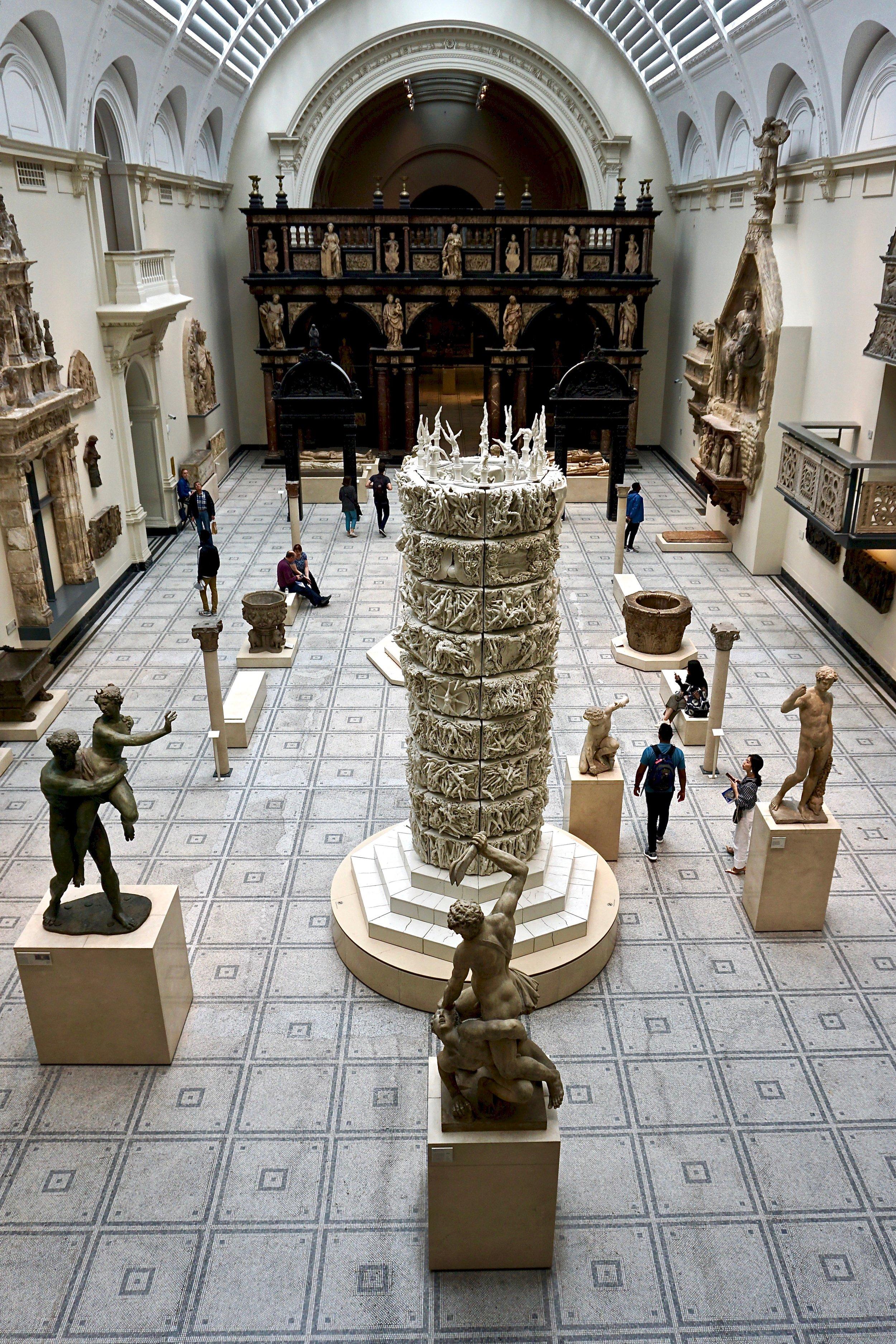 Victoria & Albert Museum interior.