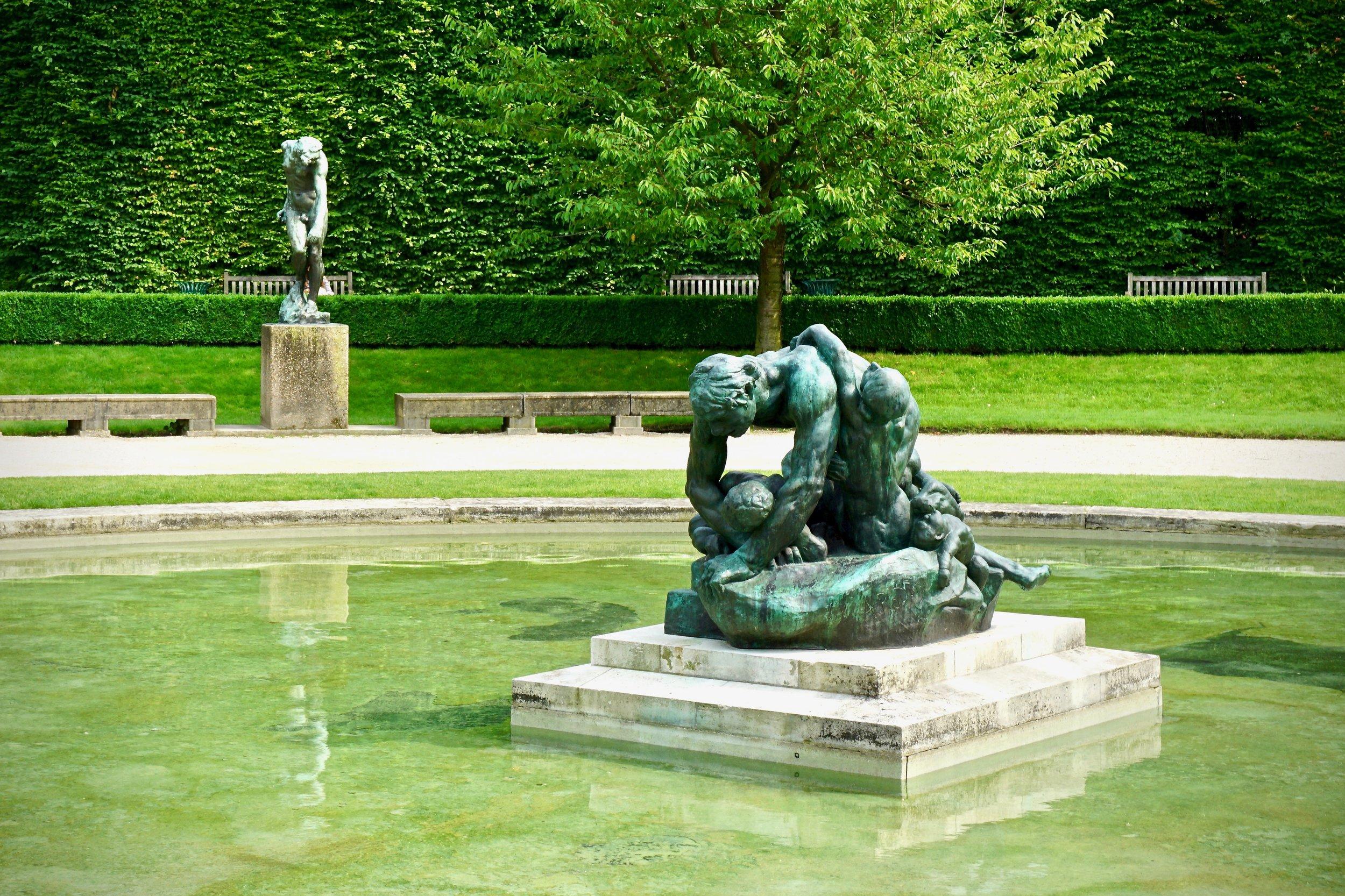 Sculpture Garden at the Rodin Museum