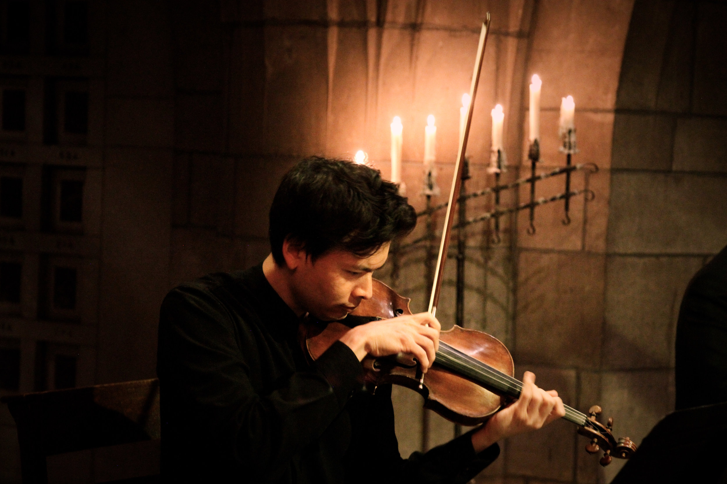 Stefan Jackiw, violin. Photo: Andrew Ousley.