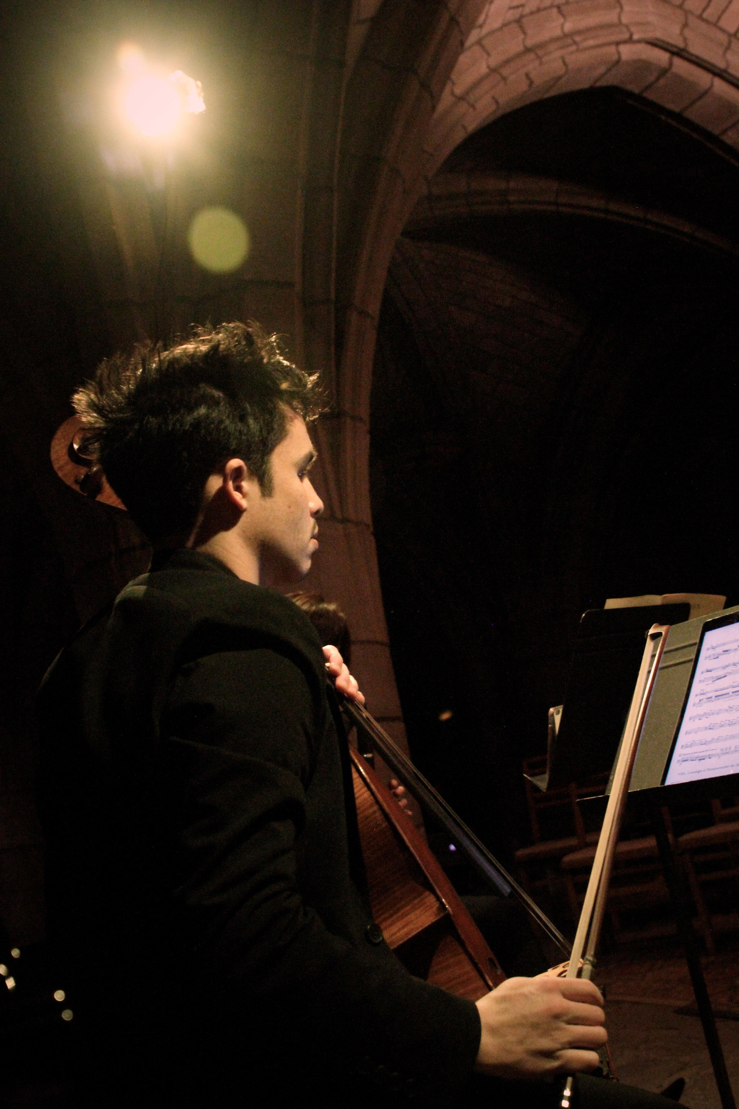 Jay Campbell, cello. Photo: Andrew Ousley.