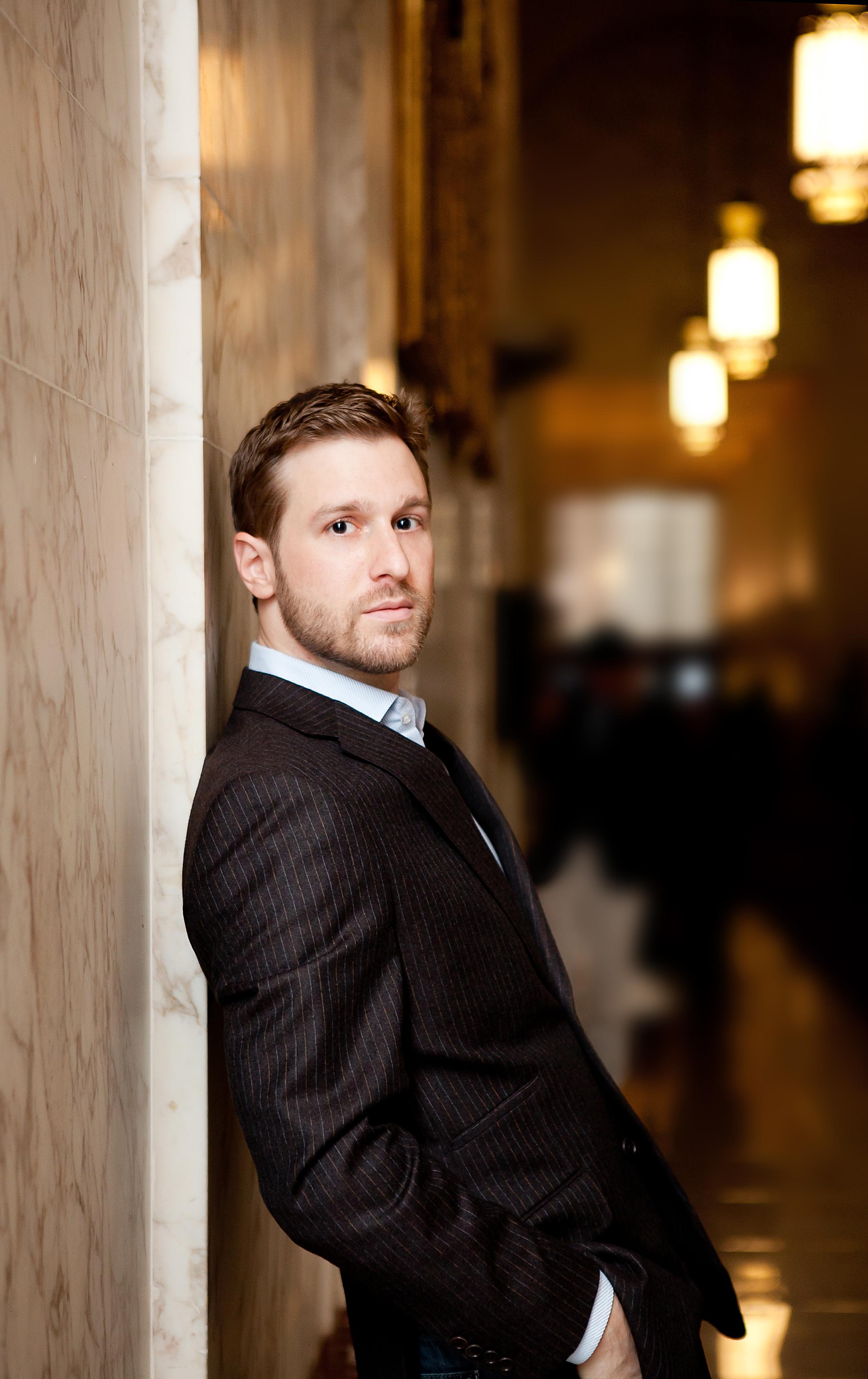 Jesse Blumberg, Baritone (Photo: Arielle Doneson)