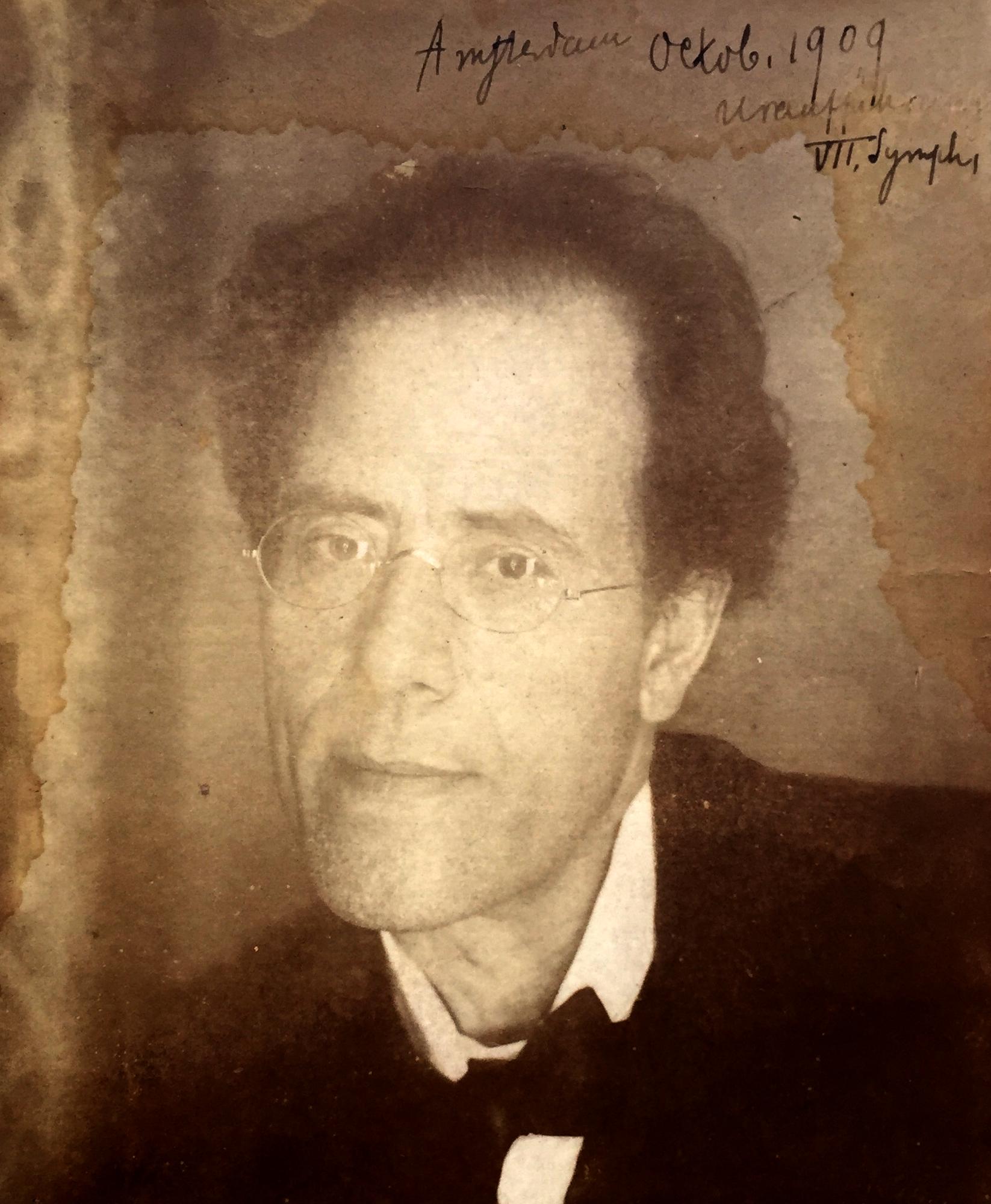 Gustav Mahler in 1909