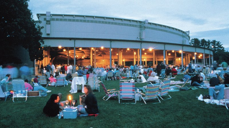 Tanglewood - Boston Symphony Orchestra's Summer Home in the Berkshires