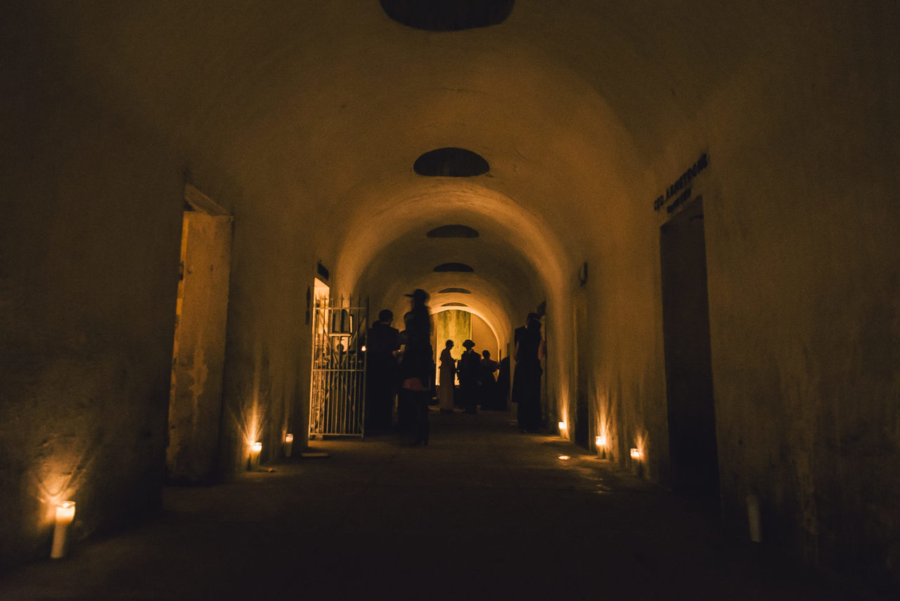 The Angel's Share - A new concert series in the Catacombs of The Green-Wood Cemetery in Brooklyn, presented by Death of Classical and Green-Wood, curated by Andrew Ousley.