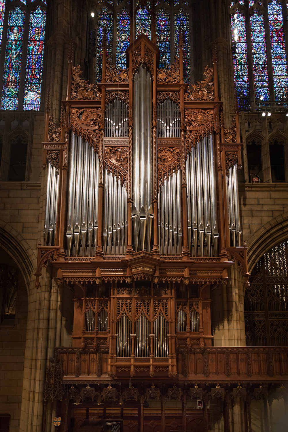 The Miller-Scott Organ. Photo by Ira Lippke.