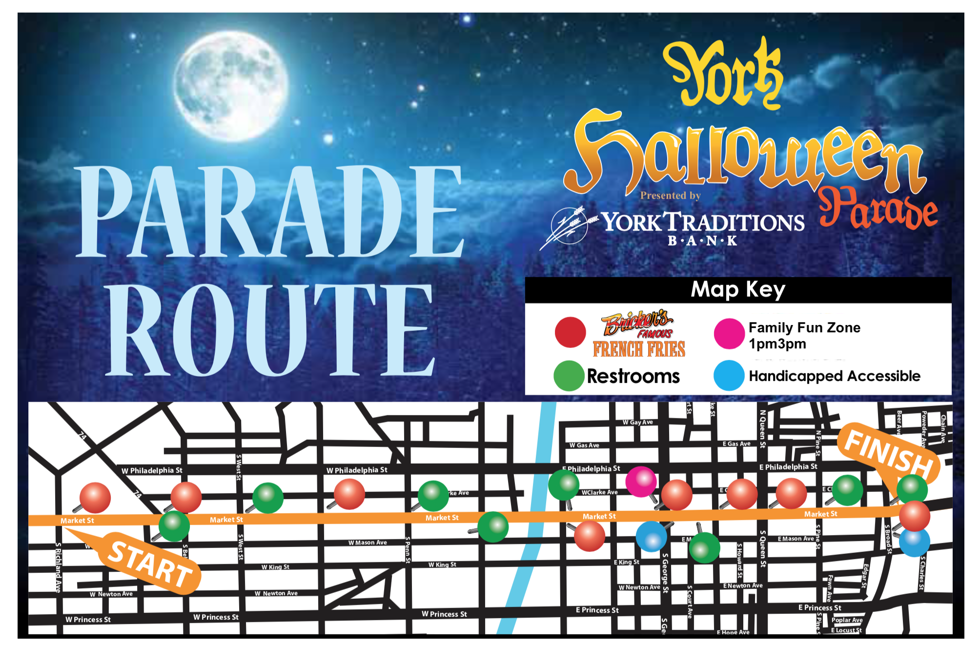 March Down Market - Start, Finish, Food, & Family Fun - Find It All Right Here!