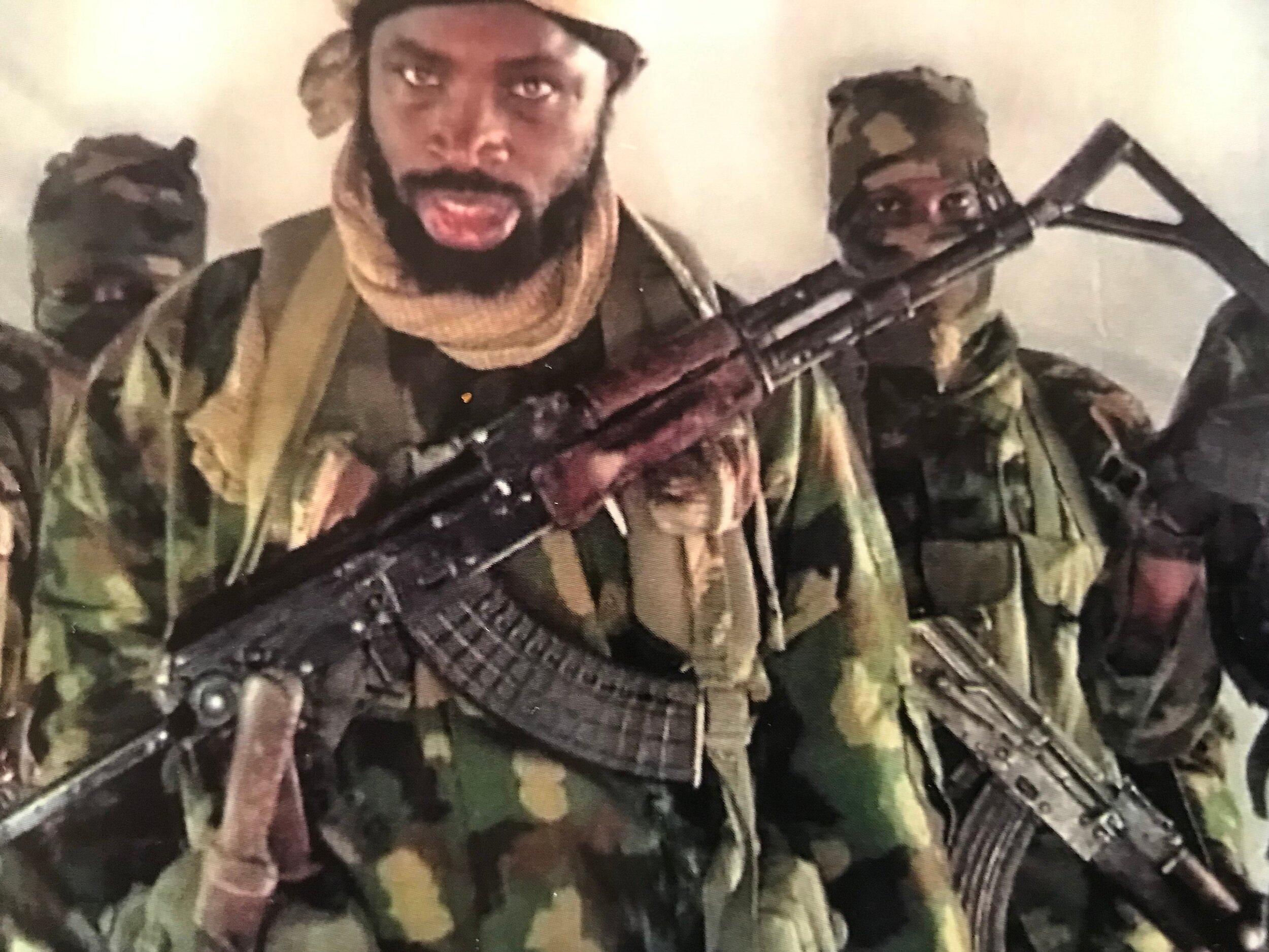 Boko Haram's henchmen . . .the faces of evil in Nigeria.