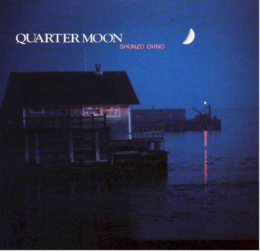 Quarter Moon (1981)  Backing Vocals –  Ullanda McCullough ,  Vivian Cherry ,  Yvonne Lewis   Congas, Percussion –  Sue Evans   Drums –  Victor Louis *  Electric Bass –  Marcus Miller   Electric Guitar –  Jeff Laton *,  T.M. Stevens   Electric Piano, Piano [Acoustic], Clavinet, Synthesizer [Mini Moog] –  Onaje Allan Gumbs   Electric Piano, Piano [Acoustic], Synthesizer [Mini Moog, Solina] –  Kenny Karkland *  Trumpet, Saxophone –  Carter Jefferson   Trumpet, Synthesizer [Mini Moog, Solina], Written By, Composed By, Arranged By –  Shunzo Ohno